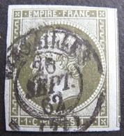 DF50478/93 - NAPOLEON N°11 - CàD De VERSAILLES (Seine Et Oise) Du 26 SEPTEMBRE 1862 - VOISIN A DROITE - Cote : 90,00 € - 1853-1860 Napoleon III