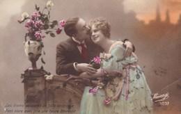 CPA, Couple In Love, Romantic, Romantique Edit Mésange (pk54313) - Other