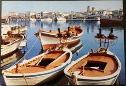 Ak Griechenland - Ägina - Hafen - Panorama - Grèce