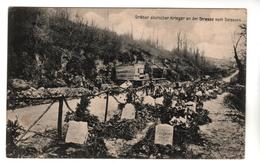 +55,  Feldpost, Heldengräber Deutscher Krieger An Der Strasse Nach Soissons - Oorlogsbegraafplaatsen