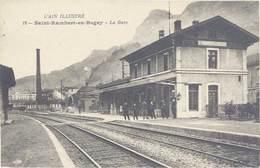 Cpa Saint-Rambert-en-Bugey – La Gare - France