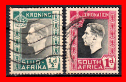 AFRICA SOUTH AFRICA / RSA SELLO AÑO 1937 GEORGE VI - Oficiales