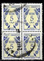 R+ Türkei 1983 Mi 169 Dienstmarke: Ornamente - 1921-... République