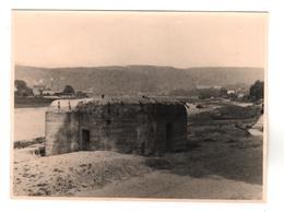 +394, Original FOTO WK II, Bunker, Tschechien, Böhmen, 8,5x11,5 Cm - War 1939-45