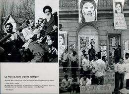 Vieux Papiers -  Document Iconographique / Photo (reproduction) - Ayatollah Khomeiny à Neauphle Le Château - Old Paper