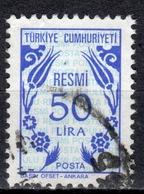 R+ Türkei 1983 Mi 171 Dienstmarke: Ornamente - 1921-... République