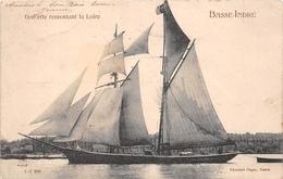 ¤¤  -  BASSE-INDRE   -  Goëlette Remontant La Loire    -   Voilier   -  ¤¤ - Basse-Indre