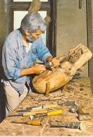 Métier Les Vieux Métiers  SCULPTEUR Sur BOIS Jean Paul Baurens  (CORDES) (artisanat)(artisan)*PRIX FIXE - Artisanat