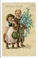 CPA - Carte Postale-Allemagne - Glückliches Neujahr-1906 - S5130 - New Year