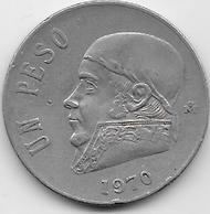 Mexique - 1 Peso - 1970 - Mexico