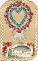 I36 - Fantaisie - 1er Avril - Cherchez Dans Votre Coeur, Le Nom De L'envoyeur - April Fool's Day