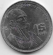 Mexique - 1 Peso - 1986 - Mexique