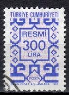 R+ Türkei 1987 Mi 185 Dienstmarke: Ornamente - 1921-... République