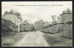 43 CHAMBON- DE- TENCE ( HAUTE- LOIRE ) ANIMEE. ATTELAGE..AVENUE DE ST-AGREVE....C3033 - France