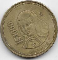 Mexique - 1000 Pesos - 1988 - Mexico