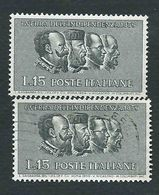 "Italia, Italy, Italie 1959; Re Vittorio EmanueleII Di Savoia Ricordato Come ""Re Galantuomo"". Nuovo + Timbrato. - Royalties, Royals"