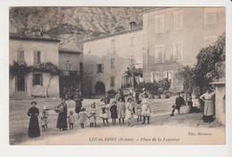 26688 Luc En Diois Place De La Fontaine -ed Messerer -enfant - Luc-en-Diois