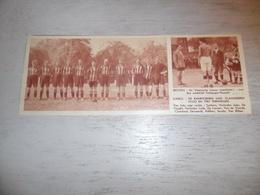 """Origineel Knipsel ( 1594 ) Uit Tijdschrift """" Ons Land """" 1933  : Terhaegen ( Terhagen ) - Hoeselt ( Hoesselt ) Voetbal - Non Classés"""