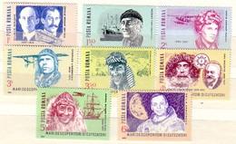 Romania 1985  Explorers (Space - Aviation )8v.-  MNH - 1948-.... Républiques