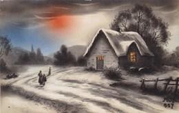 Winter Scene, Scene D'hiver, Edit ? (pk54324) - Autres