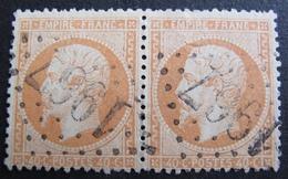 DF50478/104 - NAPOLEON III (PAIRE) N°23 - GC 1967 : LARGENTIERE (Ardèche) INDICE 3 - Cote : 35,00 € - 1862 Napoleon III