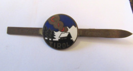 Insigne Militaire émaillé CIJ Tirol Occupation Autriche Belada Wien Guerre 39-45 - Insigne De Prix Gruppe III D - Armée De Terre