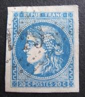 DF50478/105 - CERES EMISSION DE BORDEAUX N°46B - LUXE - LGC - Cote : 25,00 € - 1870 Bordeaux Printing