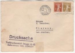 Lettre Envoyée De Zurich Vers ?? Zurich ??? - Suisse