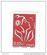 Lamouche 0.88 € Vieux Rose YT 4155a Sans Phosphore . Pas Courant , Voir Le Scan Et Description . Maury N° 4135b : 30 € - Variétés Et Curiosités
