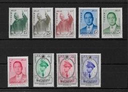 MAROC - ANNEE 1957 ** COMPLETE - COTE YVERT = 23.2 EURO - Maroc (1956-...)