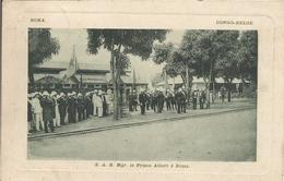 BOMA -CONGO-BELGE. - S.A.R. Mgr. Le Prince Albert à Boma..  (scan Verso) - Autres
