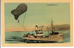 "L200A079 - Bateau De Guerre - Remorqueur ""Fauvette II"" - Ballon  - H.Emery - Remorqueurs"