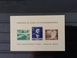Berlin Bephila 1957 Nachdruck MNH. - [5] Berlin