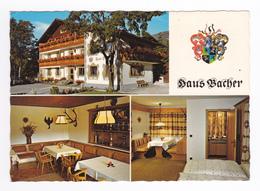 Autriche Tyrol Ferienhaus BACHER Appartements Und Zimmer Dusche WC Frühstück Seefeld Tirol Citroën GS - Seefeld