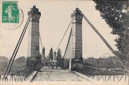 91 173 SOISY SOUS ETIOLLES Le Pont Suspendu - France