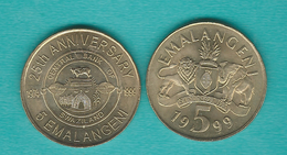 Swaziland - 5 Emalangeni - 1999 (KM47) & 25th Anniversary Of The Central Bank (KM53) - Swaziland
