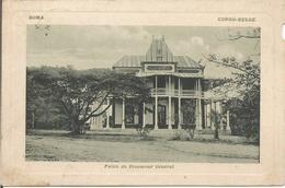 BOMA -CONGO-BELGE. - Palais Du Procureur Général.  (scan Verso) - Autres