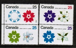 CANADA   Scott # 508-11** VF MINT NH (Stamp Scan # 442) - 1952-.... Reign Of Elizabeth II