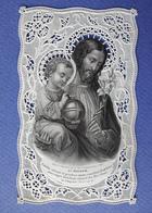 IMAGE PIEUSE  CANIVET ....ED.BOUASSE LEBEL....SAINT JOSEPH - Devotion Images