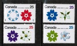 CANADA   Scott # 508-11* VF MINT LH (Stamp Scan # 442) - 1952-.... Reign Of Elizabeth II