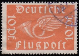 GERMANY - Scott #C1 Post Horn With Wings / Used Stamp - Germany