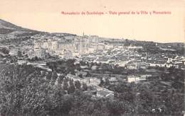 ESPAGNE Espana Spain ( Extramadura ) CACERES : Monastario De Guadalupe - Vista General De La Villa Y Monasterio - CPA - - Cáceres