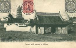 Asie - Chine -Changhaï - Pagode Avec Jardin - C 3626 - Chine