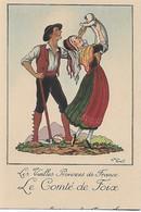 CPA Couple Du Comté De Foix - Couples