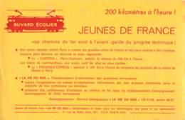 BUVARD ECOLIER - JEUNES DE FRANCE  - LA VIE DU RAIL - LE CAPITOLE - PROVENCE-EXPRESS - Transports
