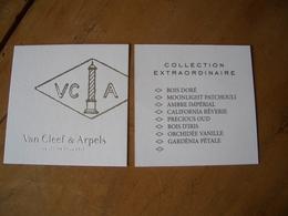 Carte Van Cleef & Arpels Choix - Perfume Cards