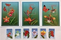Antigua Barbuda 2000** Mi.3149-54. + Bl.455,456,57 Flowers [19;89] - Plants