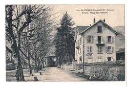 SAINT PIERRE D'ALBIGNY - Entrée Place Des Platanes - - Saint Pierre D'Albigny