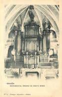 ESPAGNE  MAHON  église Santa Maria  LES ORGUES - Espagne