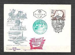1960 - N. 924 SU BUSTA CON ANNULLO PRIMO GIORNO (CATALOGO UNIFICATO) - FDC